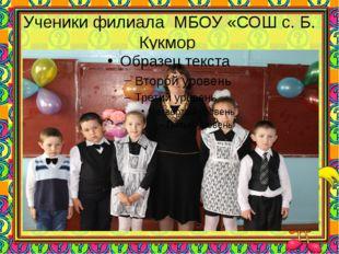 Ученики филиала МБОУ «СОШ с. Б. Кукмор