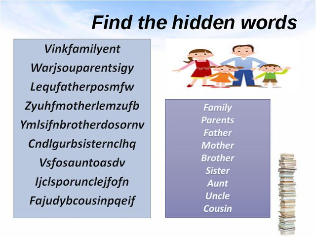 Find the hidden words
