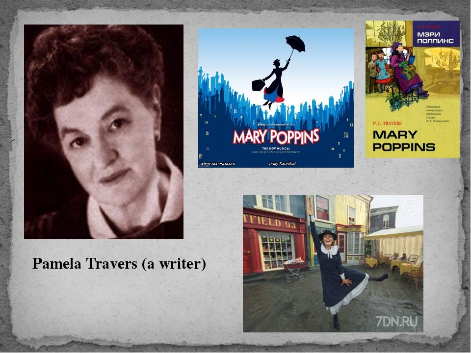 Pamela Travers (a writer)