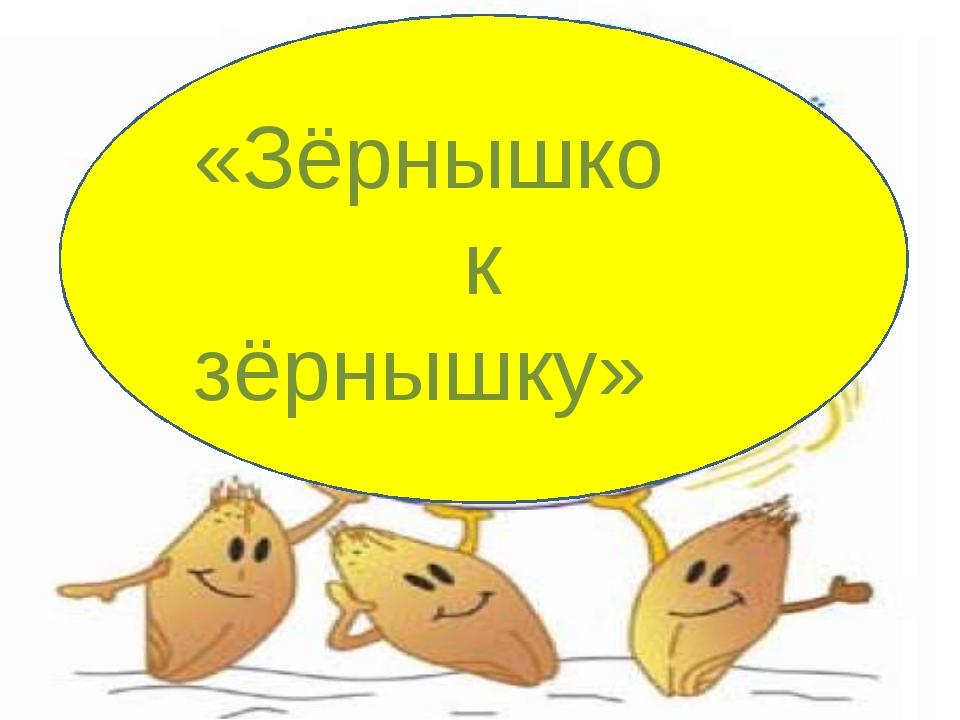 ХЛЕБОРОБЫ «Зёрнышко к зёрнышку»