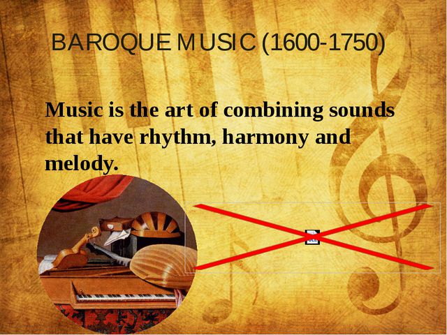Music is the art of combining sounds that have rhythm, harmony and melody. B...