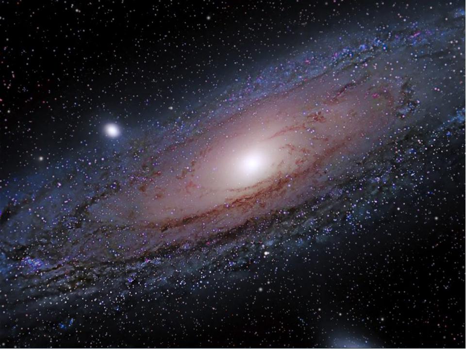 Млечный Путь и Туманность Андромеды