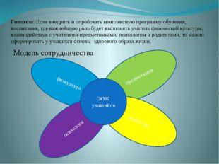 Гипотеза: Если внедрить и опробовать комплексную программу обучения, воспитан