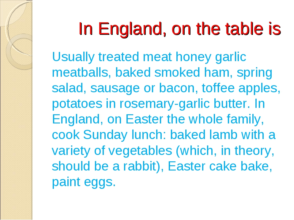 In England, on the table is Usually treated meat honey garlic meatballs, bak...