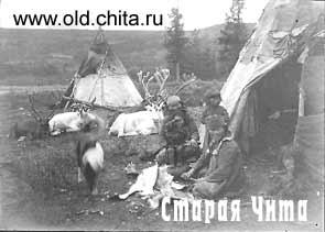 Этнография. . Эвенки. . Ethnography. . Evenk