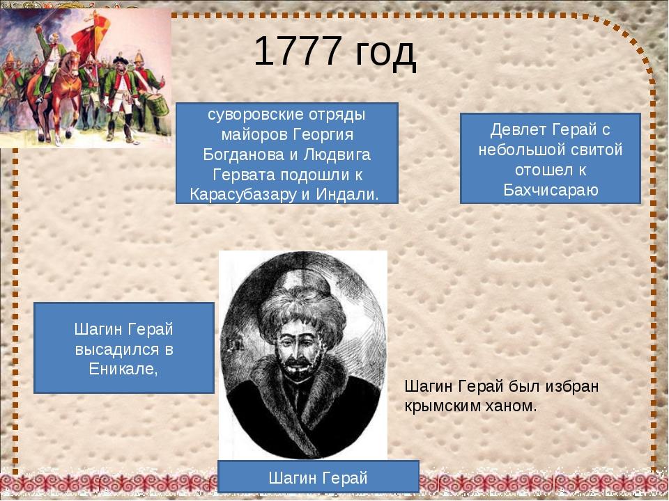 суворовские отряды майоров Георгия Богданова и Людвига Гервата подошли к Кара...