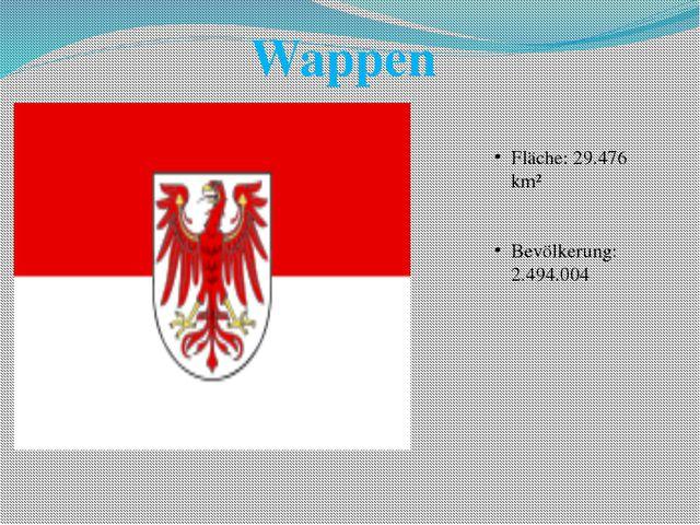 Fläche: 29.476 km² Bevölkerung: 2.494.004 Wappen