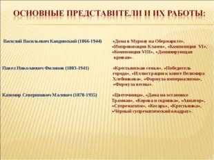 Василий Васильевич Кандинский (1866-1944) «Дома в Мурнау на Обермаркте», «Им