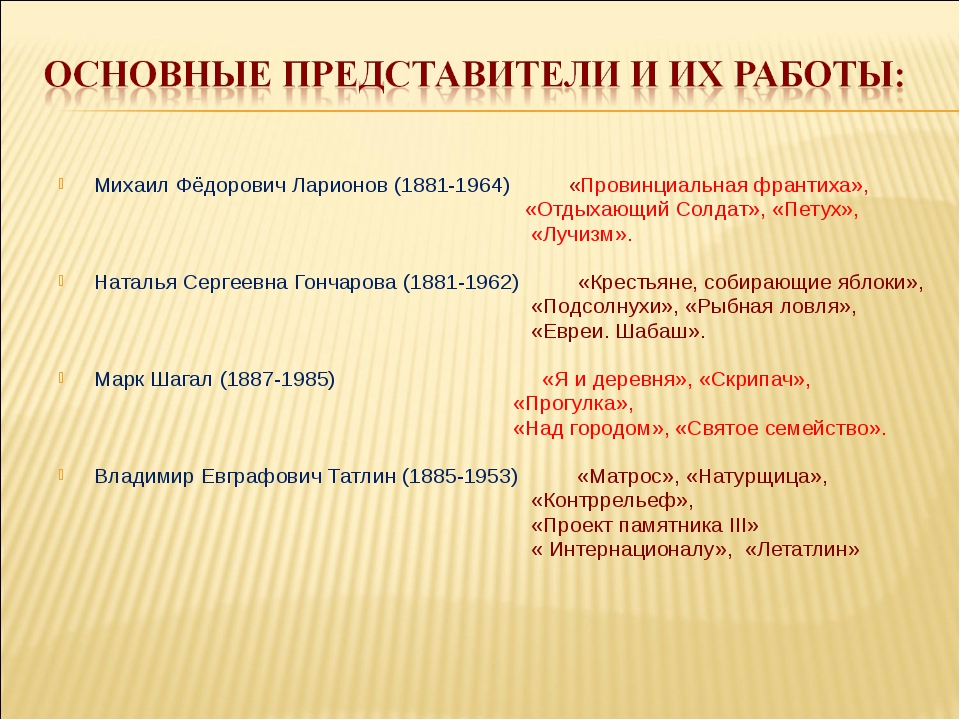 Михаил Фёдорович Ларионов (1881-1964) «Провинциальная франтиха», «Отдыхающий...