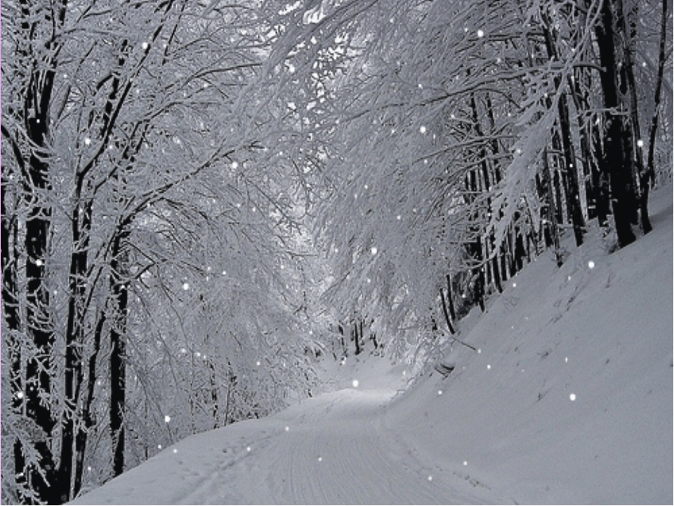 Картинки снег анимация