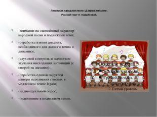 Литовская народная песня «Добрый мельник». Русский текст Н. Найдёновой. -вни