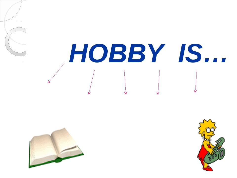 HOBBY IS…