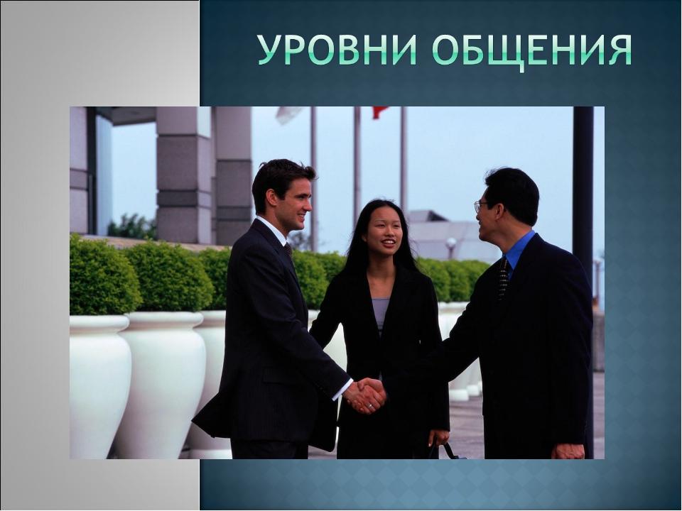 Общение в бизнесе реферат 2161