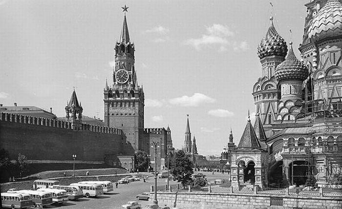 О : em Советская великой Фотографии Москва/em в Черно-белая память державе