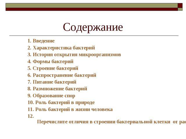 Информация о бактериях доклад для 5 класса