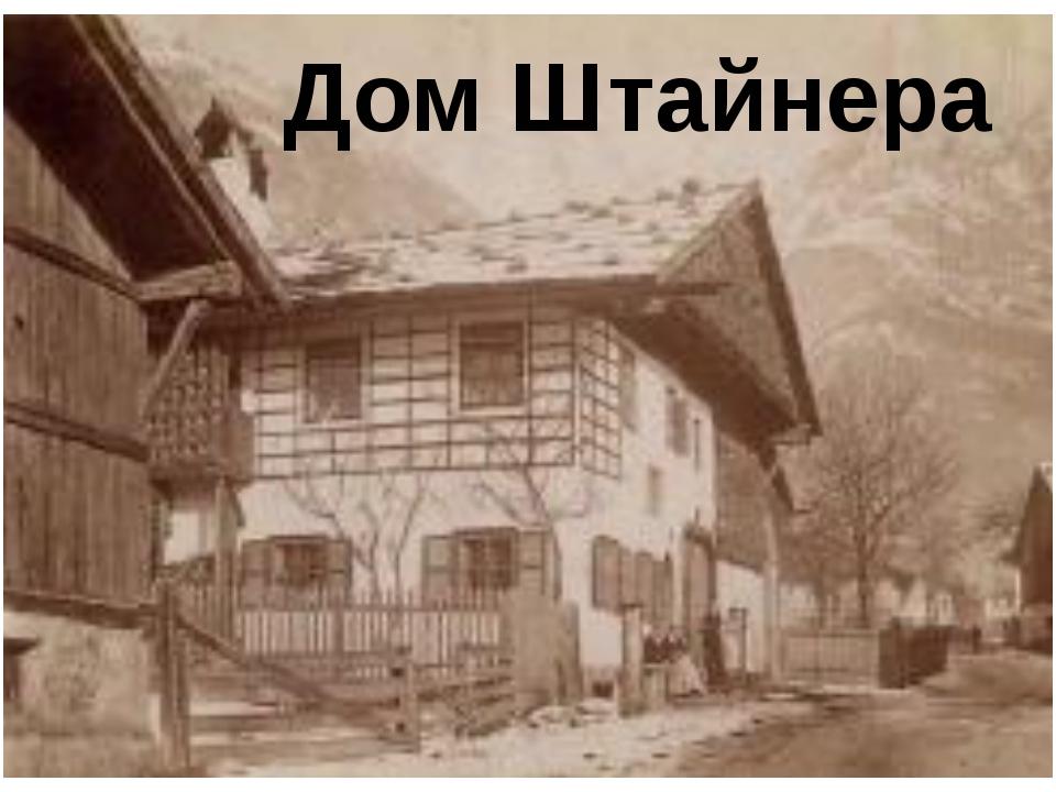 Дом Штайнера