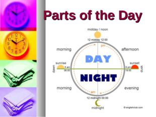 Parts of the Day