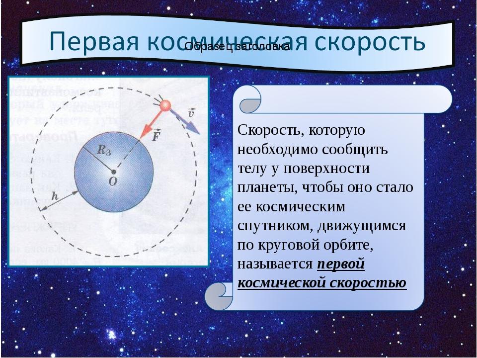 Скорость, которую необходимо сообщить телу у поверхности планеты, чтобы оно с...