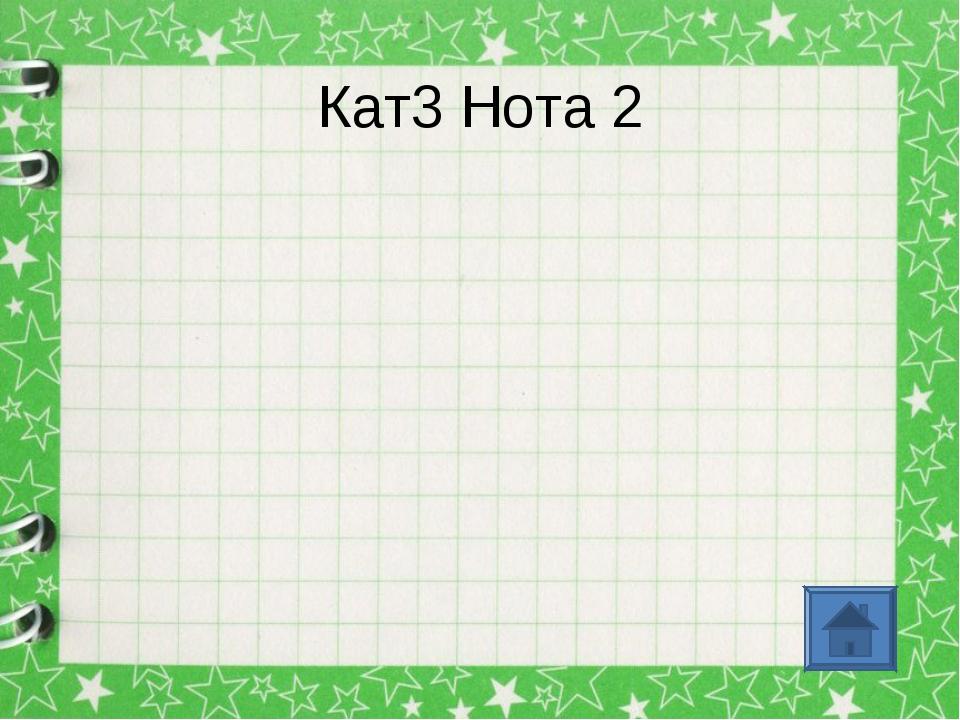 Кат3 Нота 2