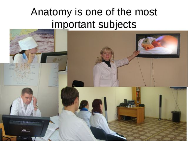 Anatomy is one of the most important subjects