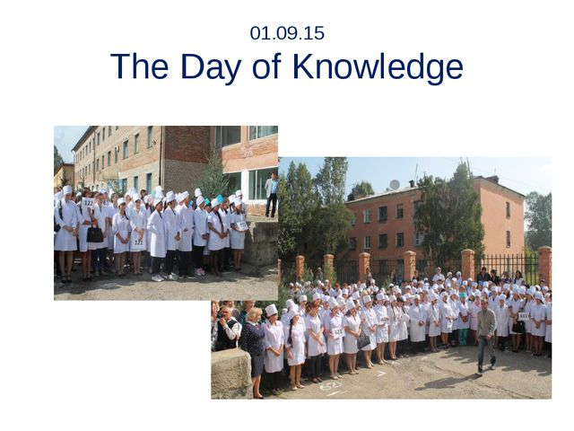 01.09.15 The Day of Knowledge