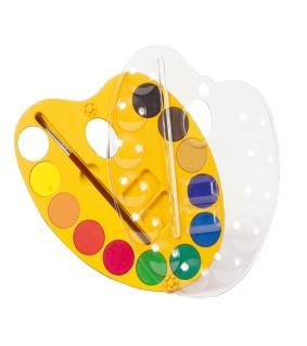 Акварельная краска для рисования (12 шт.) . - Детский интернет-магазин BT-Baby