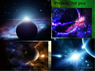 Project Did you know.