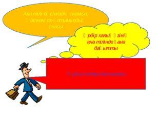 Ана тілі-бәріміздің анамыз, Өйткені ол-ұлтымыздың анасы Әрбір халық өзінің ан
