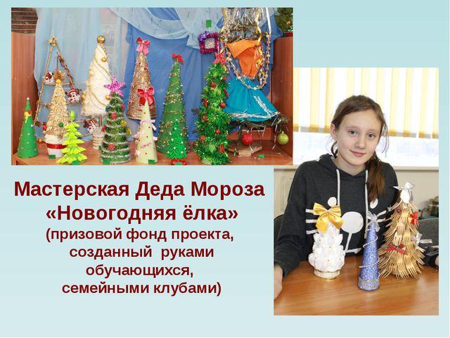 Мастерская Деда Мороза «Новогодняя ёлка» (призовой фонд проекта, созданный р...