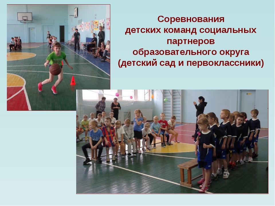 Соревнования детских команд социальных партнеров образовательного округа (дет...