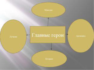 Главные герои Максим Егорыч Лучкин Артюшка