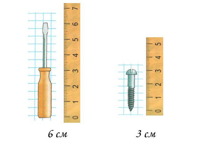 3 см 6 см