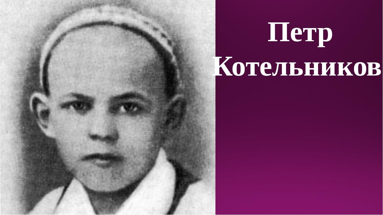 Петр Котельников