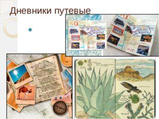 Дневники путевые