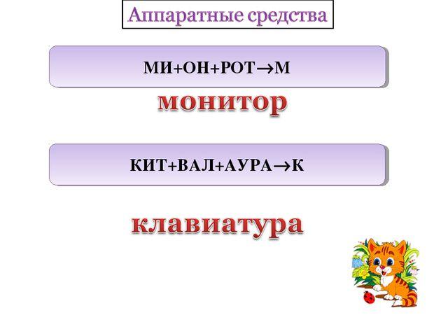 МИ+ОН+РОТМ КИТ+ВАЛ+АУРАК