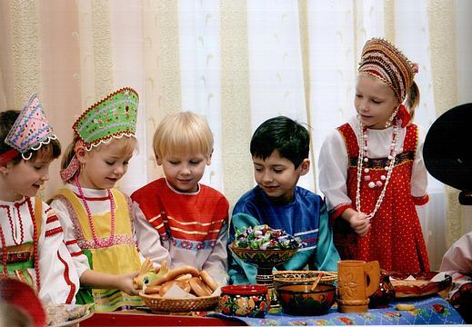 Детский народный праздник детский праздник у ольги головчик