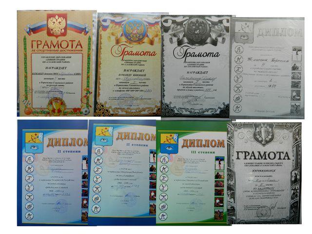 Награды и грамоты учащихся