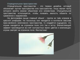 Отрицательное пространство Отрицательное пространство - это термин дизайна, к