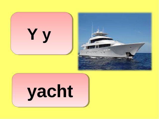 yacht Y y
