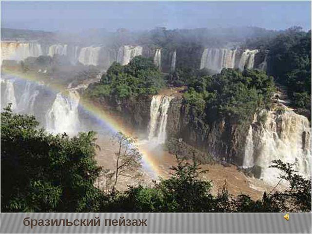 бразильский пейзаж
