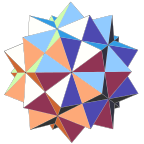First compound stellation of icosahedron.svg