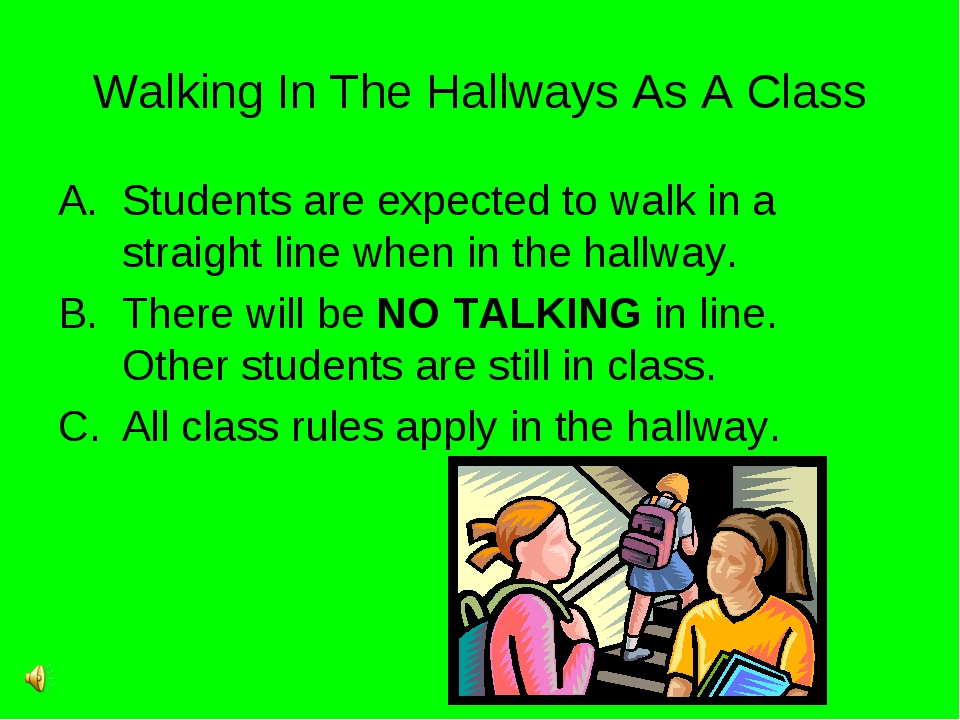 Walking In The Hallways As A Class Students are expected to walk in a straigh...