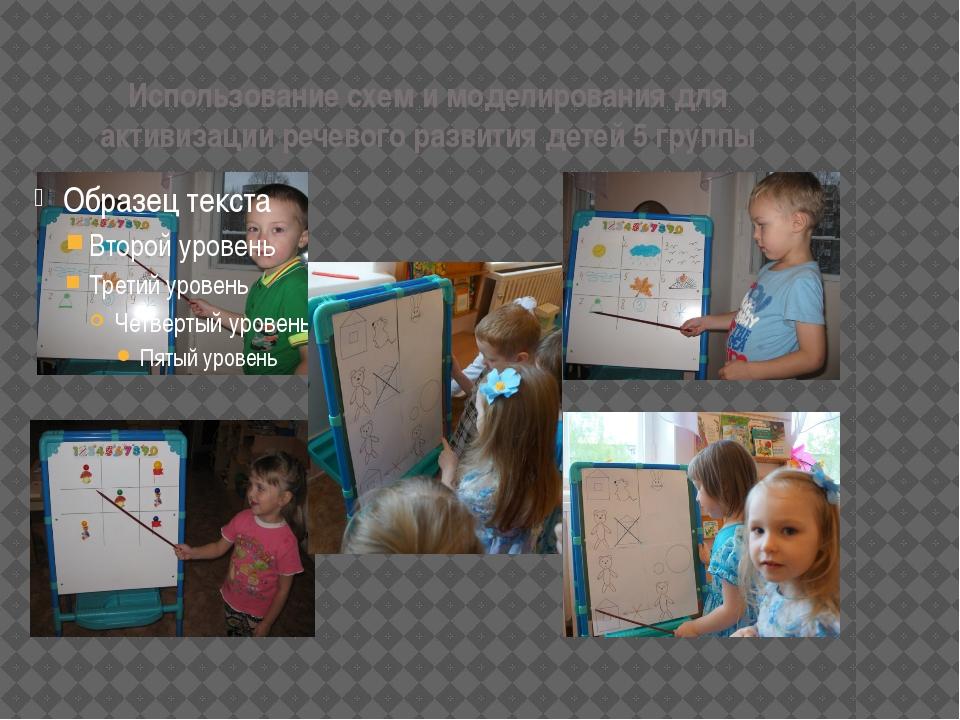 Использование схем и моделирования для активизации речевого развития детей 5...