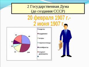 2 Государственная Дума (до создания СССР)
