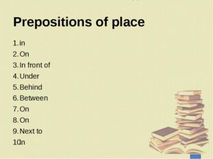 Now I … understand how to use articles. understand how to use prepositions of