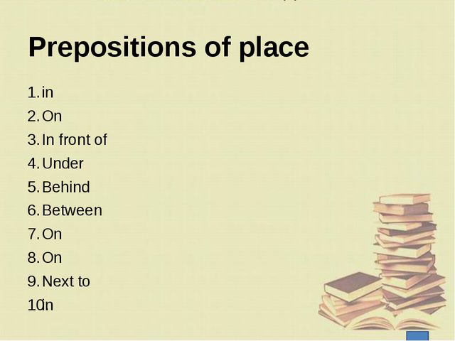 Now I … understand how to use articles. understand how to use prepositions of...