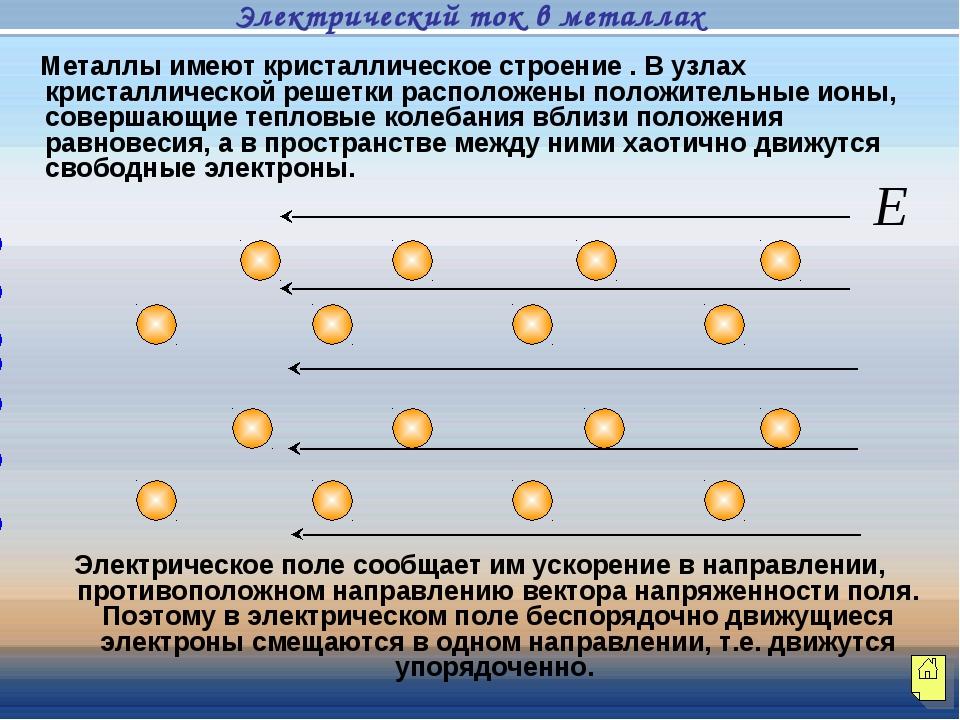 Металлы имеют кристаллическое строение . В узлах кристаллической решетки рас...
