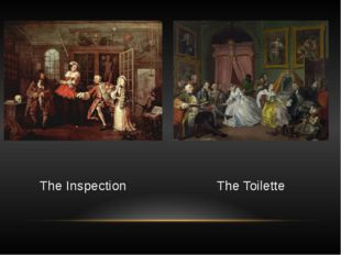 The Toilette The Inspection