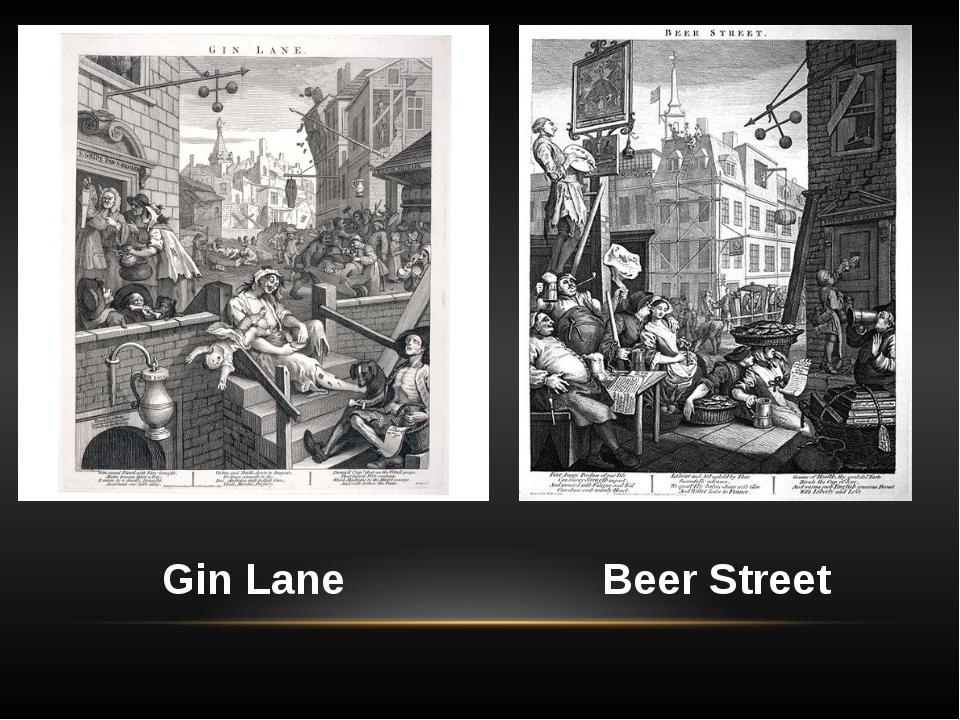 Beer Street Gin Lane
