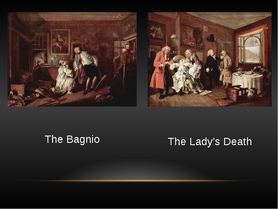 The Bagnio The Lady's Death